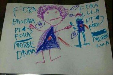 Desenho Dilma